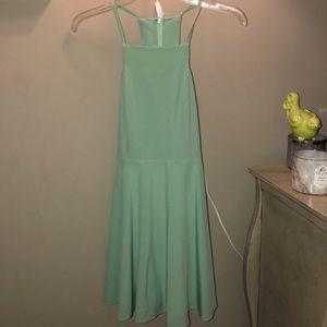 Super cute semi formal turquoise dress